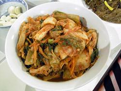 Tradiční nakládané zelí Kimči (Pečchu kimčchi)